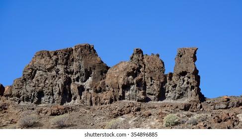 stones like a camel under the blue sky