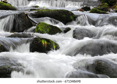 stones in a river