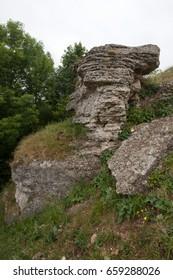 Stones. Rock. Small rock - Shutterstock ID 659288026