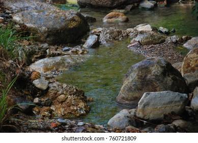 Stones in the stream