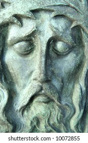 Stone-sculpture of Jesus