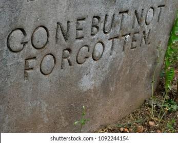 Stonework on a Gravestone