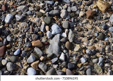 A stony beach pattern