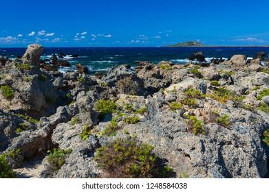 Stony coast of Elafonisi/Crete/Greece