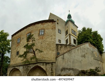 stony mediaeval castle Buchlov in the Czech Republic, founded in the 13th century
