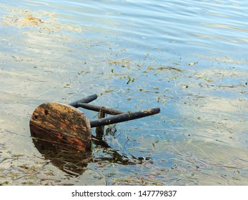 Stool in Lake