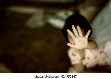 Stop abusing violence. violence, terrified , A fearful child