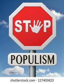 stop populism political philosophy populist or nationalist