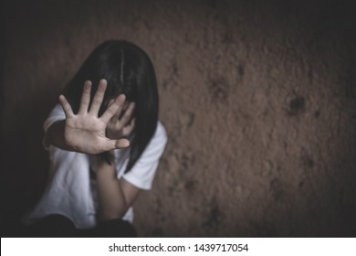 Stop sexual harassment and violence against women, rape and sexual abuse concept, The concept of stopping violence against women and rape.