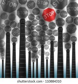 stop smoke