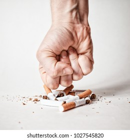 stop smoking quit now concept