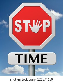 stop time freezing clock stopping timer