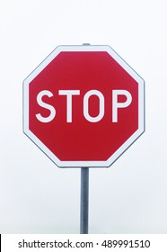 Stop, traffic sign
