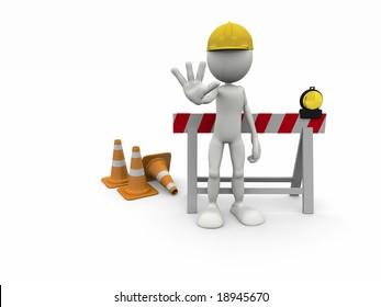 STOP! Under Construction