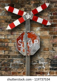 Stop and wall