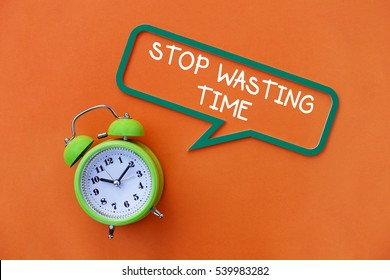 Stop Wasting Time, Business Concept
