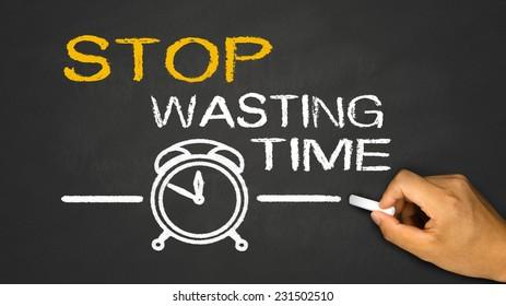 stop wasting time on blackboard