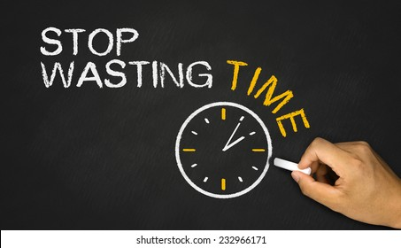 stop wasting time on blackboard