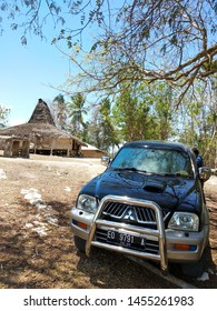 Stopped at a stage house in the east Sumba tribe. In sumba island 27 october 2017