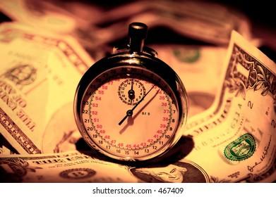 Stopwatch and Money