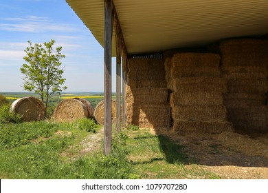 Storage for hay and straw
