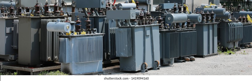 storage of old highly polluting electrical transformers before disposal in the company specializing in the recovery of hazardous substances
