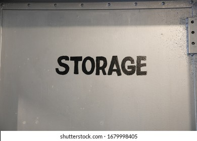 storage room where people store their goods