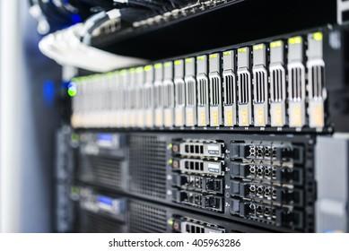 Storage servers in data room Domestic Room .