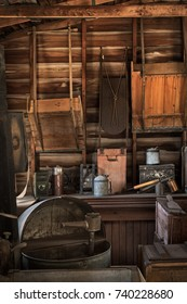 Storage Shed - dusty and old