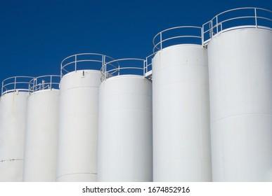 storage silo liquid food tank metal container