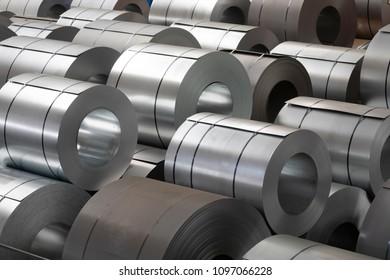 storage of steel coils
