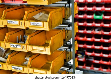 storage of stews and bolts