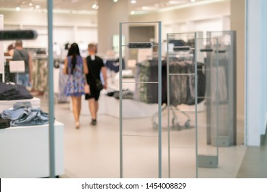 store anti-theft system signalisation alarm, scanner entrance gate