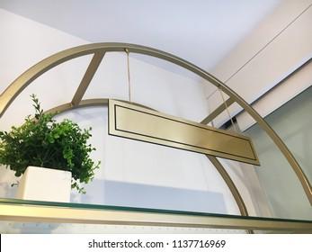 store singboard design