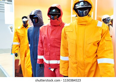 Store uniform clothing for the industry