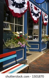 Storefront displays the US colors