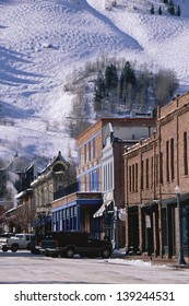 Storefronts, Aspen, Colorado