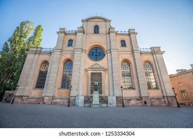 Storkyrkan church in Gamla Stan Stockholm Sweden