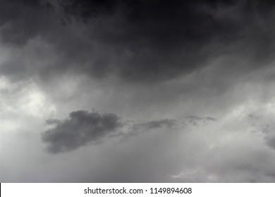 Storm cloud background, dark colors