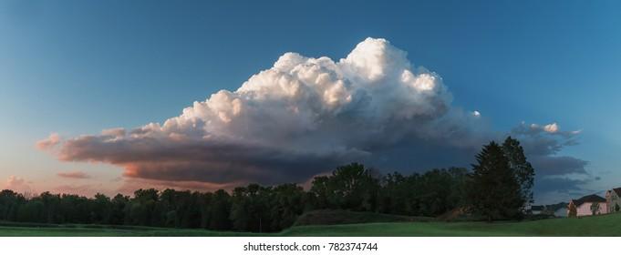 Storm Cloud Panorama