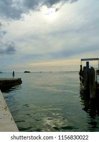 Storm cloudes over the Venetian Lagoon