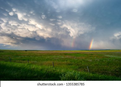 Storm Clouds Over the Prairies