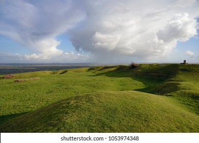 Storm Clouds over Somerset Levels 