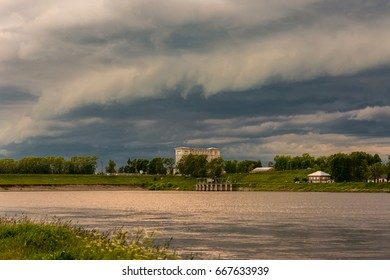 Storm clouds over the Uglich Gateway