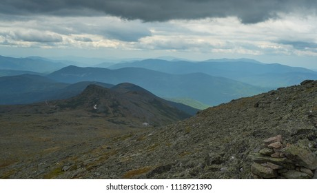 Storm Clouds and White Mountains