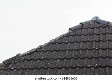 Storm damage on the roof