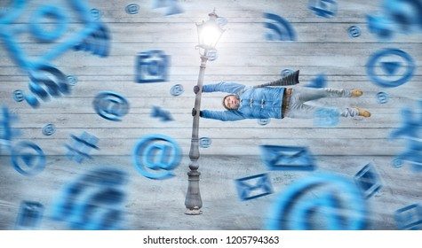 Storm of digital media