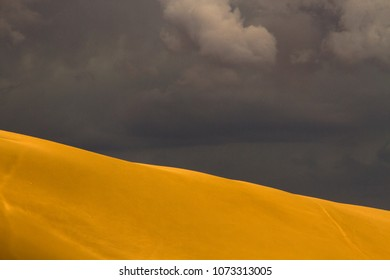 Storm in the dune