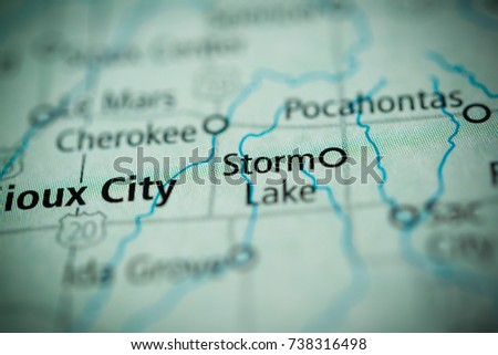 Storm Lake Iowa Stock Photo Edit Now 738316498 Shutterstock
