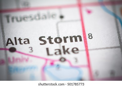 Storm Lake. Iowa. USA.